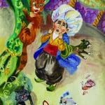 """Байбикова Cабина,13 лет, """"Маленький Мук"""", г. Лямбирь, преп. Лисова Л.Е."""