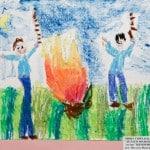 Симхаев Михаил, 5 лет «Делаем шашлыки…» Студия «ВДОХНОВЕНИЕ»,преп. Ланге Н.Я.