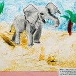 Симхаев Михаил, 5 лет «Слон путешественник» Студия «ВДОХНОВЕНИЕ», преп. Ланге Н.Я.