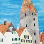 Макс Тилер ( Мах Thiler)   11 лет, Ульмовский берег Дуная. Башня Мясника.
