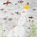 Мартин Нелля, 6 лет, «Зима – моё любимое время года», Германия г. Ной Ульм