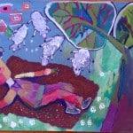 Панькина Екатерина, 9 лет, «Пастух на привале», гуашь, РСО – Алания, с. Октябрьское, преп. Теблоева М.А.