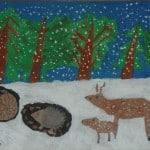 Хирас Мария, 6 лет, «Зима», Германия г. Ной Ульм