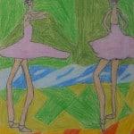 Ноа Неслауер, 9 лет, «Балетная разминка», Германия г. Ной Ульм