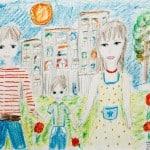 Лясникова Софья, 13 лет «Семья» Студия «ВДОХНОВЕНИЕ», преп. Ланге Н.Я.