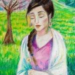 Сеидова Ева,13 лет, «Горянка», педагог Насруллаева М.Э.