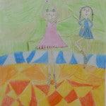 Гильг Ханна, 8 лет, «Китайские танцовщицы», Германия, г. Ной Ульм