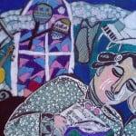 Илурова Виктория, 10 лет, «Ночное вдохновение», масляная пастель, РСО – Алания, с. Октябрьское, пед. Хубецова Э.А.
