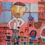 Ованов Юрий, 8 лет, «Папа повар», смешанная техника, МБОУ ДОД ДХШ, РСО – Алания с.Октябрьское, пед. Шманатова З.А.