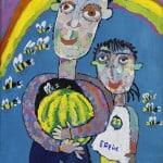 Дзантиев Хасан, 8 лет, «Сладкое лето», гуашь,  РСО – Алания, с. Октябрьское, пед. Цахилова М.Т.