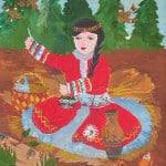 Давыдова Кристина, 9 лет «Бесстрашная Татья», гуашь, преп. Лобанова В.Н.