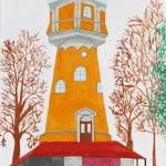 Краузе Даниэль, 13 лет, «Водянная Башня  г. Новый-Ульм», Художественная школа, пед. Хоффман Т.