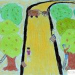 Гила Аджами. 14 лет, «Сбор урожая», Школа «АМИ» «Т» Израиль г. Беэр-Шева, пед. Ланге Н.Я.