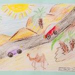 Барухов Ориян, 6 лет, «Путешествие по Израилю», Студия  изобразительного искусства «ПАНДА», ЦЕНТР «МОРИЯ» Израиль г. Беэр-Шева, пед. Ланге Н.Я.