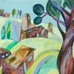 Бетеев Алан, 14 лет,  «Старое село в горах», г. Владикавказ,  преп. Теблова М.А.