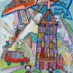 Плиев Вадим, 7 лет, «Город в самолёте», г. Владикавказ , преп. Караева Э.М.