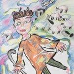Безоева Яна, 10 лет, «Безумный пастух», ДХШ с. Октябрьское РСО – Алания,   преп. Хубецова Э.А.
