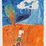 Моисеев А., 8 лет,  «Дети ветра», гуашь, бумага,  МАО УДОД «ЧДШИ №2»,  преп. Варушкина Н.В.