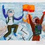 Лукоянова Татьяна, 12 лет, «Восхождение на Эверест», МАО УДОД «ЧДШИ №2»,  преп. Фомичёва  Е.К.