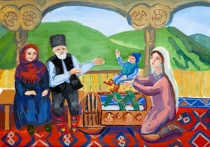 Кубаналиева Сабина, 11 лет, «Семья», пед. Насруллаева М.Э.