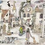 Софя Воркеле, «Легенды старого города», Художественная школа, г. Юрмала, пед. Антон Вайводс